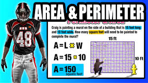 Area And Perimeter Worksheets 4th Grade Find Area And Perimeter Of A Rectangle In The Real World