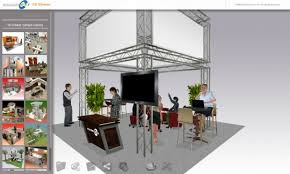 exhibitcore floor planner free and exhibitcore showcase away3d