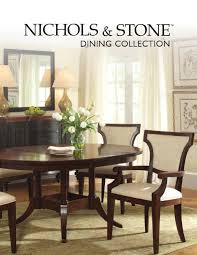 dining collection by nichols u0026 stone by stickley issuu