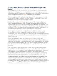 Do Resumes Need A Cover Letter What To Say In A Cover Letter