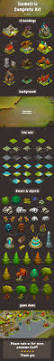 tileing halloween background isometric game kit 1 of 3 towers backgrounds tilesets u0026 more