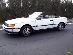 toyota convertible 1987 super white ii toyota celica gt convertible 24874920 photo