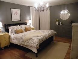 gray and blue bedroom ideas playuna bedroom inspiration astonishing glass bedroom chandelier over sweet floral cover beds with black wooden frames on home decor