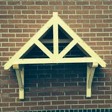 Front Door Awnings Wood Timber Front Door Canopy Porch Shropshire Door Canopies Curved