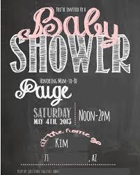 baby shower chalkboard goodie goodies pink gold baby shower
