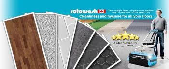the best surface floor cleaning machine rotowash floor