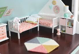 Dollhouse Bed For Girls by Diy Dollhouse The Girls Bedroom And Nursery