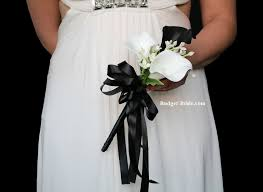 Boutonniere Prices Black And White Wedding Flowers Black Wedding Flowers