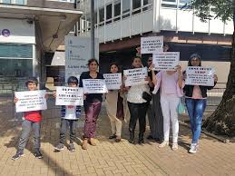 Home Office Uk by Indian Ladies Uk Iluk Protest To Home Office Eshadoot