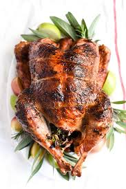 herb butter rotisserie turkey foodiecrush