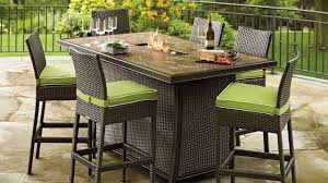 Gas Patio Table Patio Furniture With Pit Table Agio Gas Sets 2018 Charming