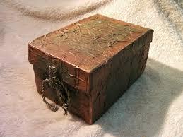 Diy Transfer Mueble Paso A Paso Diy Caja Imitacion De Cuero Reciclada Imitation Leather Box