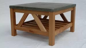concrete top outdoor table coffe table 09010a table basse beton carree design 02 concrete