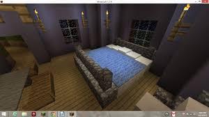 Minecraft Interior Design Bedroom Bed Bedroom Minecraft Ideas