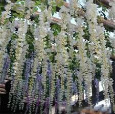 Artificial Flowers Wholesale 1 6 Meter Long Elegant Artificial Silk Flower Wisteria Vine Rattan
