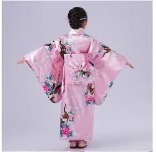 high quality child cosplay dress japanese baby kimono dress