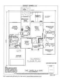 ameila floorplans ernest signature homes