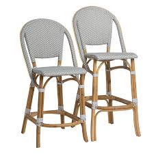 furniture backless swivel bar stools wicker counter stools