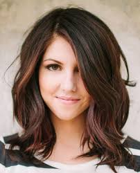 medium length hairstyles with layers around face archives women
