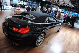black convertible bmw exclusive bmw 6 series convertible design explained by adrian van