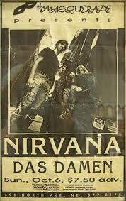 Seeking Atlanta Wanted Nirvana Posters From Athens Atlanta Ga Shows
