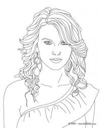 the incredible taylor swift coloring pages to motivate to color