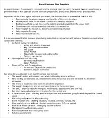 business plan template one page business plan template 4 free word