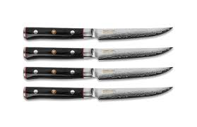 mcusta kitchen knives mcusta zanmai steak knife set 4 cutlery and more