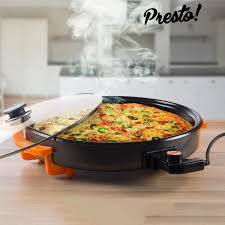 poele electrique cuisine poêle électrique presto 30 cm achat vente poêle sauteuse
