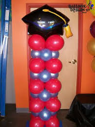 graduation balloon decorations available in your colors