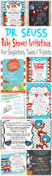 super bowl party invitation template printable dr seuss baby shower invitations for one baby twins or