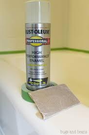 How To Refinish A Clawfoot Bathtub Best 25 Bathtub Spray Paint Ideas On Pinterest Industrial