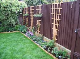 Fencing Ideas For Backyards by Best 25 Trellis Fence Ideas Only On Pinterest Privacy Trellis