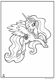 epona pony coloring pages magic color book