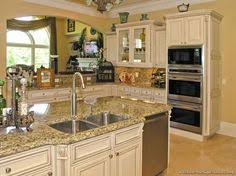 Pictures Of Kitchens Traditional OffWhite Antique Kitchen - Kitchen white cabinet