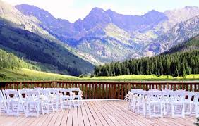 cheap wedding venues in colorado our vail colorado destination wedding