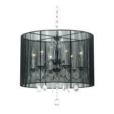 black drum l shade chandeliers linen drum shade chandelier trendy linen drum shade