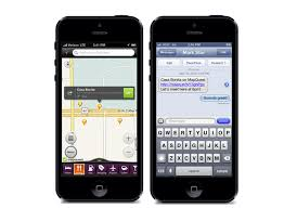 map qwest mapquest releases place and traffic rerouting to mobile