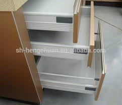 Kitchen Cabinet Drawer Guides Beautiful Design Kitchen Cabinet Soft Close Tandem Box Drawer