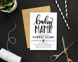 printable rustic baby shower invitation custom