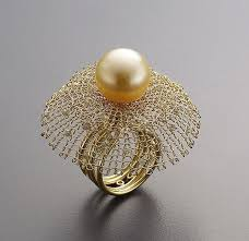 diamond pearl rings images 956 best jewelry fashion pearls images jewelry jpg
