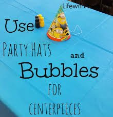 minion centerpieces minion themed party ideas with heidi