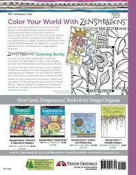 interesting color combinations amazon com zenspirations coloring book flowers create color