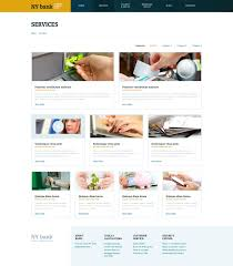 reporting website templates website template 48360 ny bank custom website template ny