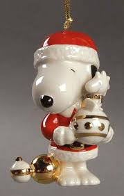 Snoopy Christmas Decorations by Lenox Whimsical Snoopy Ornaments At Replacements Ltd