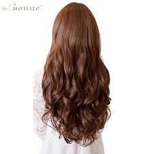 hair extensions snoilite 17 24 28 30 curly synthetic clip in hair extensions
