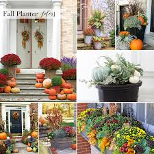 celebrate fall with these beautiful autumn planter decor ideas for