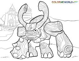 skylanders coloring pages free to within skylander page eson me