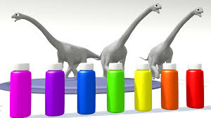 learn colors for kids learn colors with dinosaurs for children