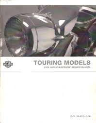 2004 harley davidson service manual touring models p n99483